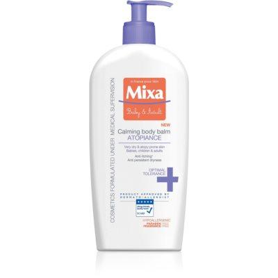 MIXA Atopiance pomirjujoči losjon za telo za zelo suho občutljivo kožo in za kožo, ki je nagnjena k atopiji