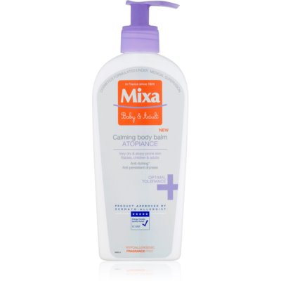 MIXA Atopiance Soothing Body Lotion for Very Dry Sensitive Skin and Skin Prone to Atopic Eczema