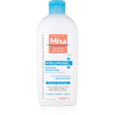 oczyszczające mleczko do twarzy do skóry suchej i bardzo suchej