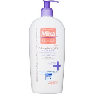 MIXA Baby & Adult leche corporal calmante para pieles muy secas, sensibles y atópicas