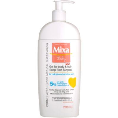 MIXA Baby gel de duche e champô 2 em 1 para crianças