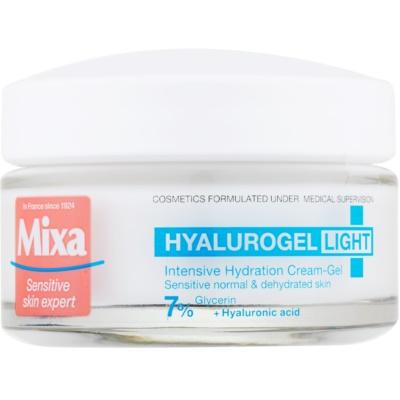 hydratační krém na obličej s kyselinou hyaluronovou