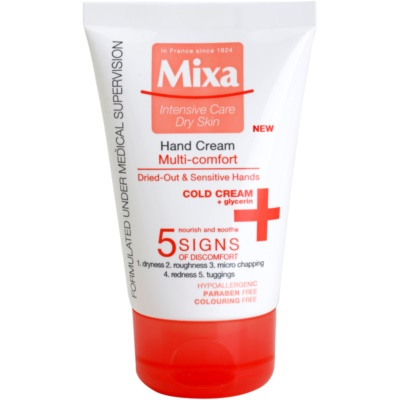 MIXA Multi-Comfort Nourishing Moisturiser For Hands