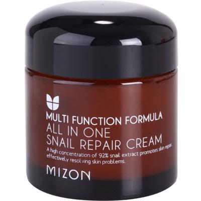 Mizon Multi Function Formula crème régénérante à la bave d'escargot filtrée 92%
