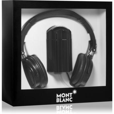 Montblanc Emblem подаръчен комплект VII. тоалетна вода 100 ml + слушалки