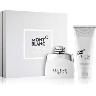 Montblanc Legend Spirit ajándékszett III.  Eau de Toilette 50 ml + borotválkozás utáni balzsam 100 ml