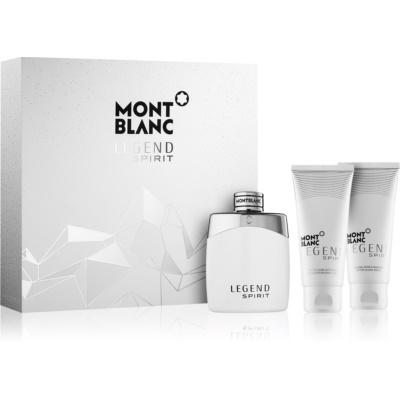 Montblanc Legend Spirit Geschenkset II.  Eau de Toilette 100 ml + After Shave Balsam 100 ml + Duschgel 100 ml