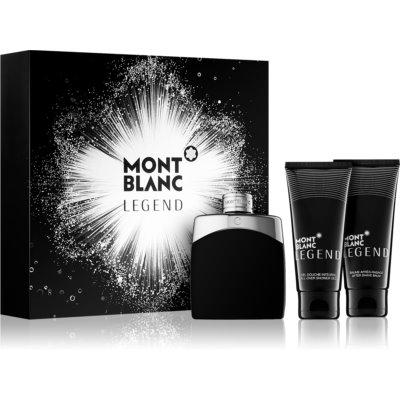 Montblanc Legend Gift Set  XII. Eau de Toilette 100 ml + Aftershave balsem  100 ml + Douchegel 100 ml