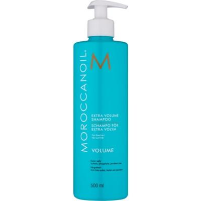 objemový šampon pro jemné vlasy
