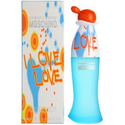 Moschino I Love Love Eau de Toilette pentru femei