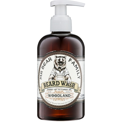 Mr Bear Family Woodland shampoing pour barbe