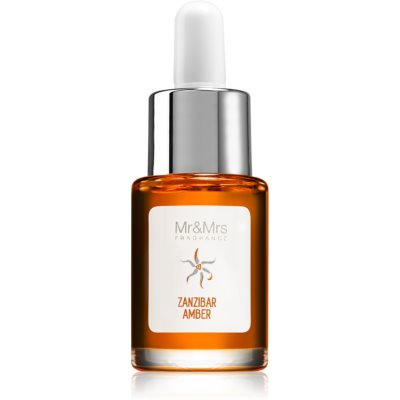 Mr & Mrs Fragrance Blanc Zanzibar Amber huile parfumée