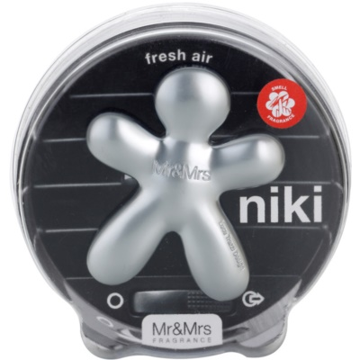 Mr & Mrs Fragrance Niki Fresh Air ambientador de coche para ventilación  recargable