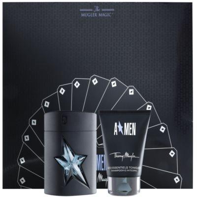 Mugler A*Men Gift Set VIII. Eau De Toilette 50 ml + Shampoo 50 ml + Bag