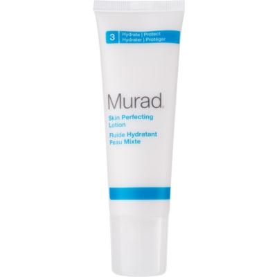 pleťový fluid pro redukci kožního mazu a minimalizaci pórů vyrovnávající nerovnosti