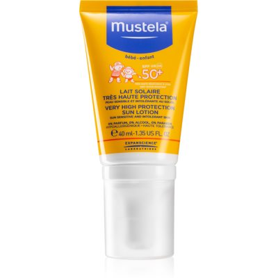 Mustela Solaires crème protectrice visage SPF 50+