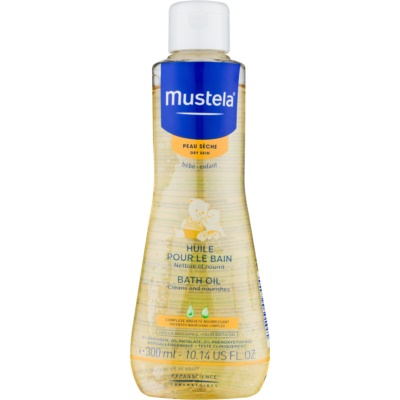 Mustela Bébé Dry Skin Bath Oil
