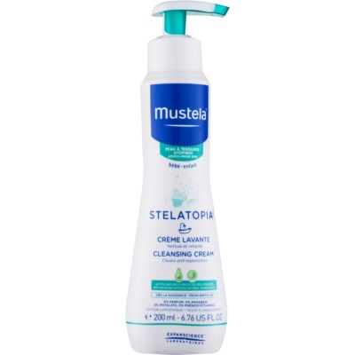 Mustela Bébé Stelatopia Cleansing Cream For Children From Birth