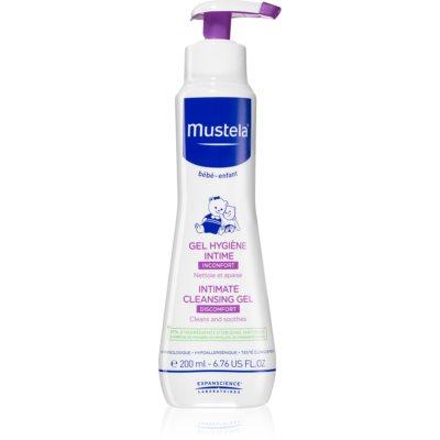 pomirjajoči gel za intimno higieno za otroke