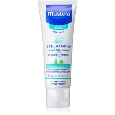 Mustela Bébé Stelatopia Softening Face Cream for Children from Birth