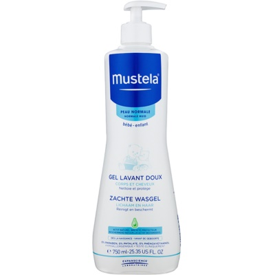 Mustela Bébé Bain Cleansing Gel For Hair And Body For Kids