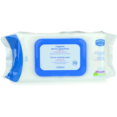 Mustela Bébé Change Dermo - Soothing Wipes For Kids