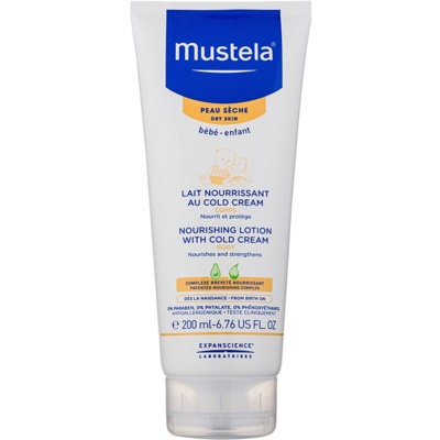 Mustela Bébé Soin Body Lotion With Cold Cream
