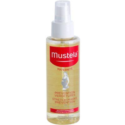 ošetrujúci olej pre prevenciu strií