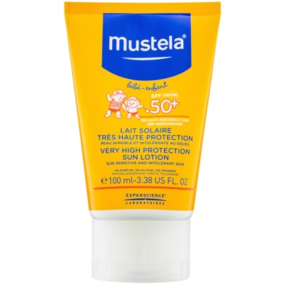 Mustela Solaires leche bronceadora SPF 50+