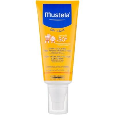 Mustela Solaires zaštitni sprej za djecu SPF50+