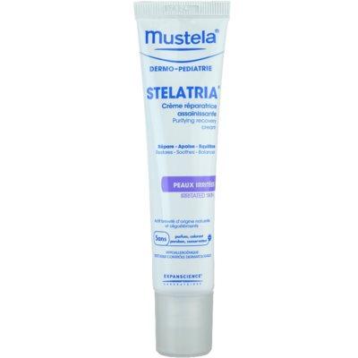 Mustela Dermo-Pédiatrie Stelatria crème régénérante pour peaux irritées