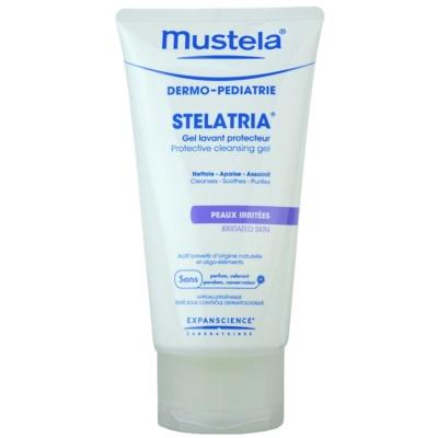 Mustela Dermo-Pédiatrie Stelatria zaščitni čistilni gel za razdraženo kožo