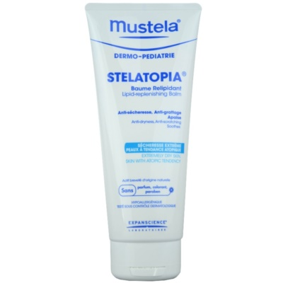 Mustela Dermo-Pédiatrie Stelatopia Lipid - Replenishing Balm For Very Dry Sensitive And Atopic Skin