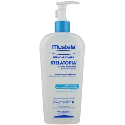 hydratačný krém pre veľmi suchú citlivú a atopickú pokožku