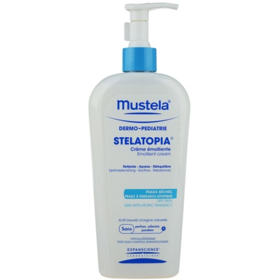 Mustela Dermo-Pédiatrie Stelatopia Emollient  Moisturizing Cream For Very Dry Sensitive And Atopic Skin