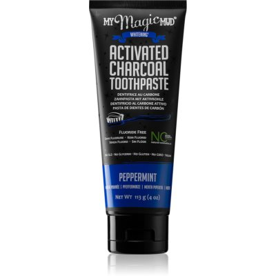 My Magic Mud Activated Charcoal Whitening Toothpaste with Activated Charcoal