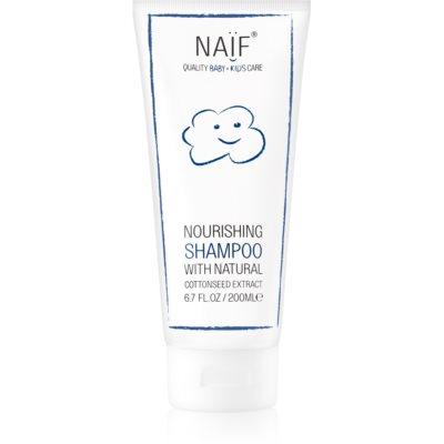 výživný šampón pre detskú pokožku hlavy