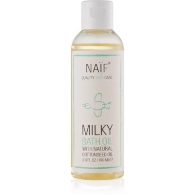 Naif Baby & Kids Milky Bath Oil for Children from Birth