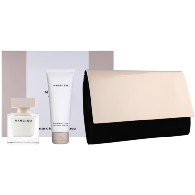 Narciso Rodriguez Narciso Gift Set VI.  Eau De Parfum 50 ml + Body Milk 75 ml + Wallet