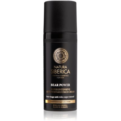 Natura Siberica For Men Only crème anti-rides (intense)