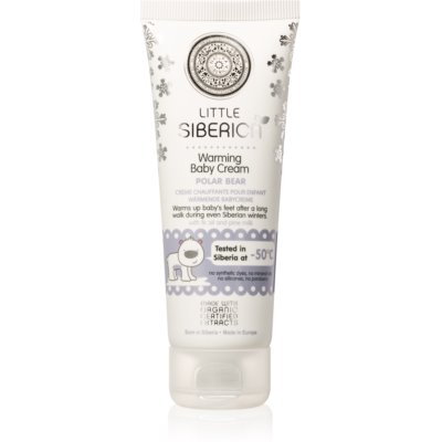 Natura Siberica Little Siberica Gentle Foot Cream with Warming Effect for Kids