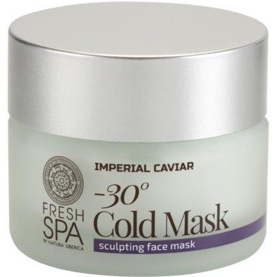 tvarující pleťová maska proti stárnutí