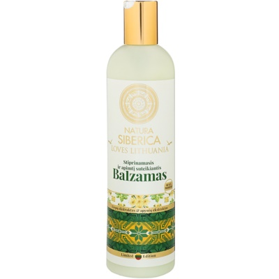 Natura Siberica Loves Lithuania Strengthening Balm For Hair