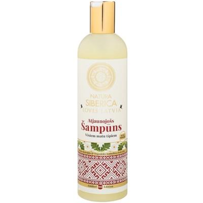 erneuerndes Shampoo für das Haar