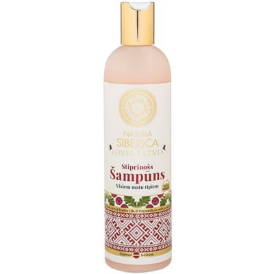 posilňujúci šampón na vlasy