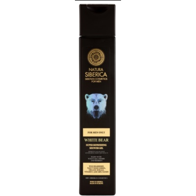 Natura Siberica Men Refreshing Shower Gel For Men