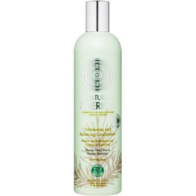 Natura Siberica Natural & Organic μαλακτικό για όγκο για λιπαρά μαλλιά