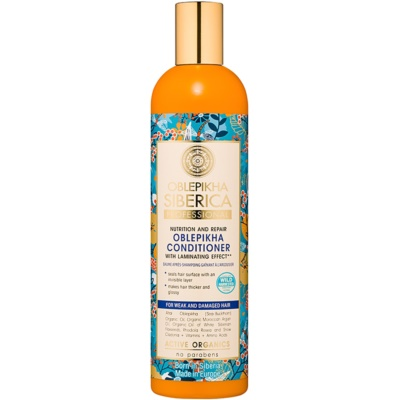 Natura Siberica Sea-Bucktorn Conditioner for Weak and Damaged Hair