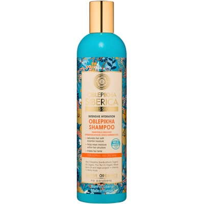 Natura Siberica Sea-Bucktorn Moisturizing Shampoo For Normal To Dry Hair