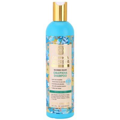 Natura Siberica Sea-Bucktorn shampoing pour un volume maximal